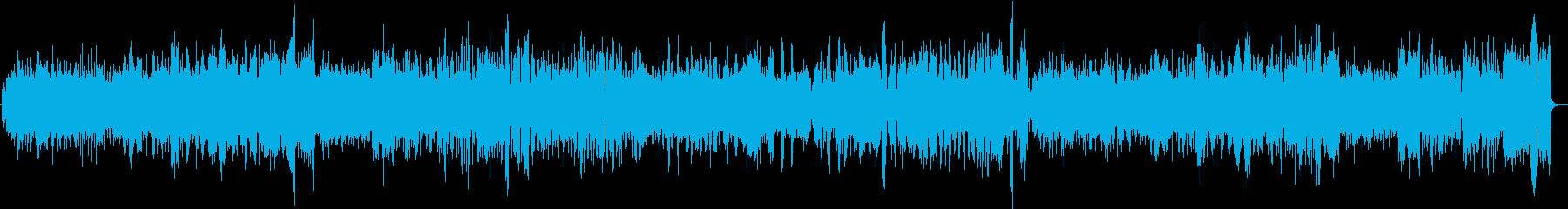 バッハ クラシック パイプオルガン 2の再生済みの波形
