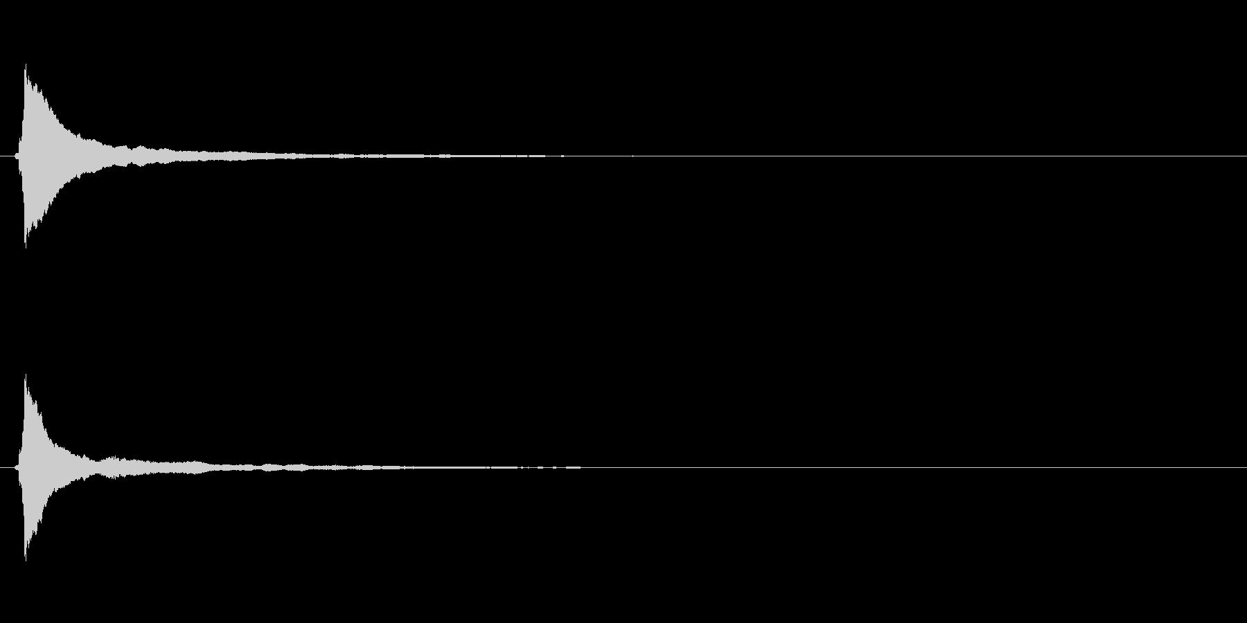 キラキラ系_006の未再生の波形