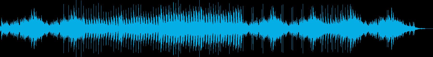 ピアノの旋律が切ないバラードの再生済みの波形