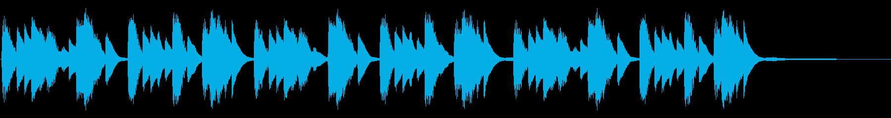 機能性・便利なイメージを与えるピアノソロの再生済みの波形