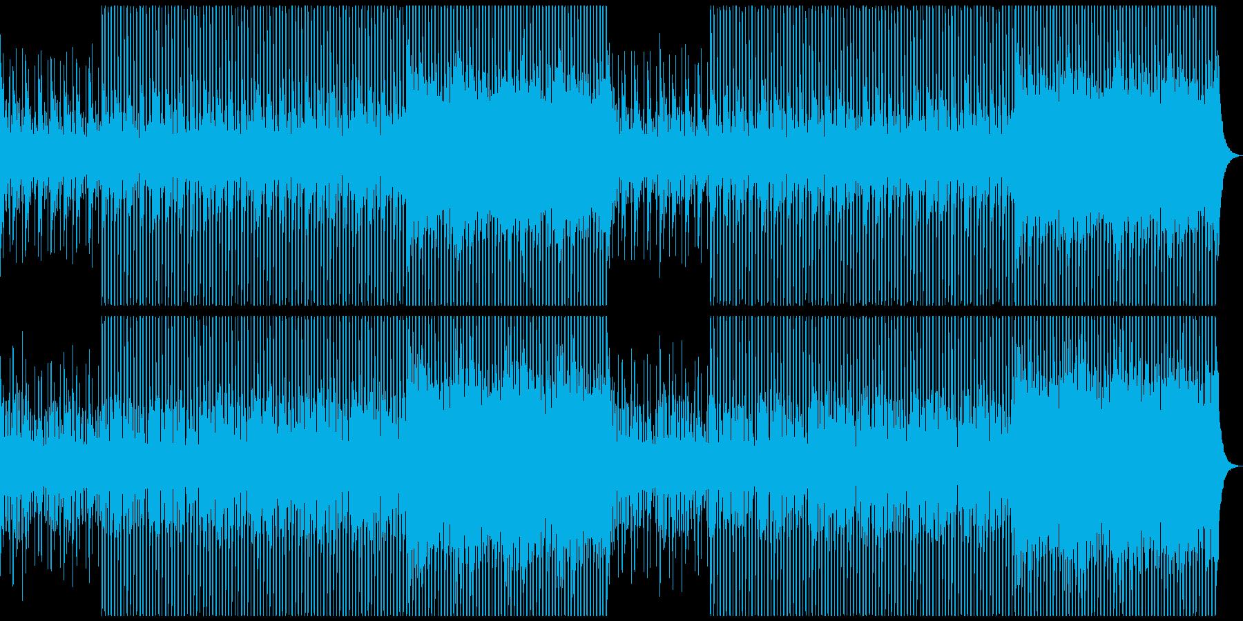 企業VPに!爽やか、穏やかピアノハウスの再生済みの波形