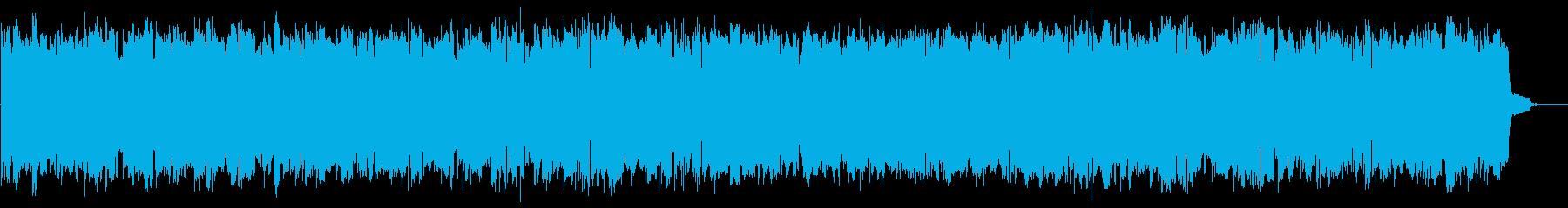 コンピューターのピコピコB 近未来な音の再生済みの波形