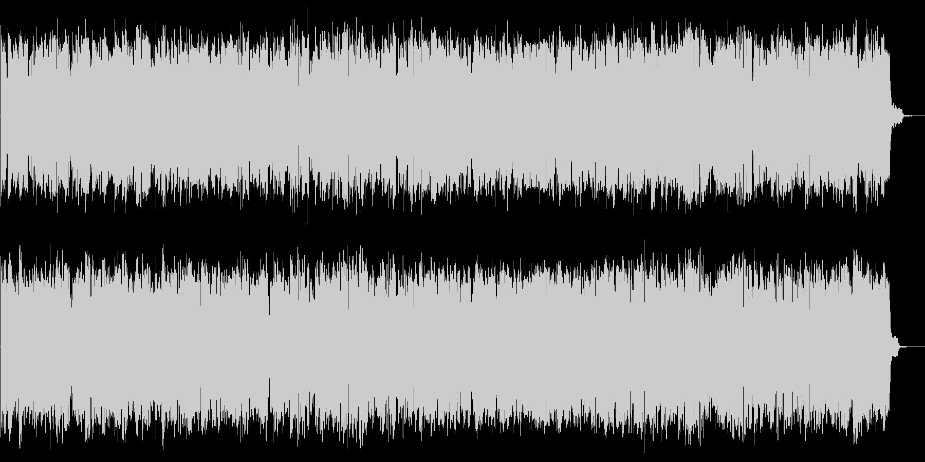 コンピューターのピコピコB 近未来な音の未再生の波形