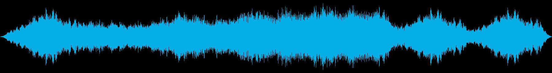 深い緊張感を煽るBGSの再生済みの波形
