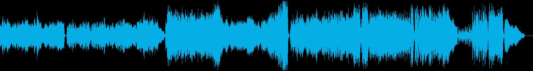 ラストシーン&エンディング曲・高クオリテの再生済みの波形