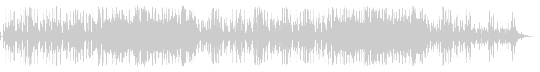 アコギとクラシックギタ-のアンサンブルの未再生の波形