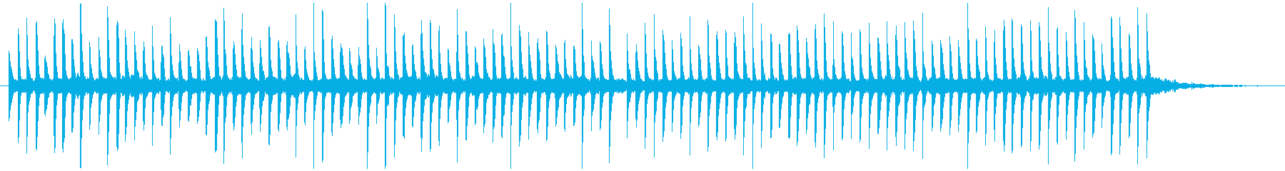 ゲームの待機音の再生済みの波形