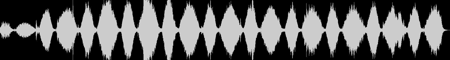 自己内省瞑想音楽1の未再生の波形