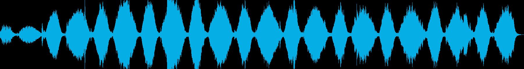 自己内省瞑想音楽1の再生済みの波形