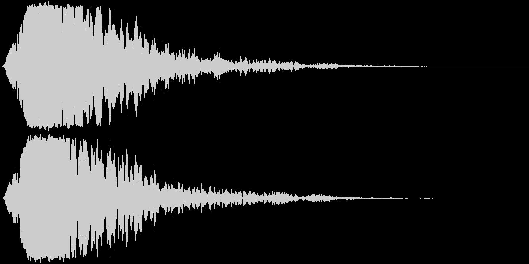 キラン☆シャキーン/派手なインパクト04の未再生の波形