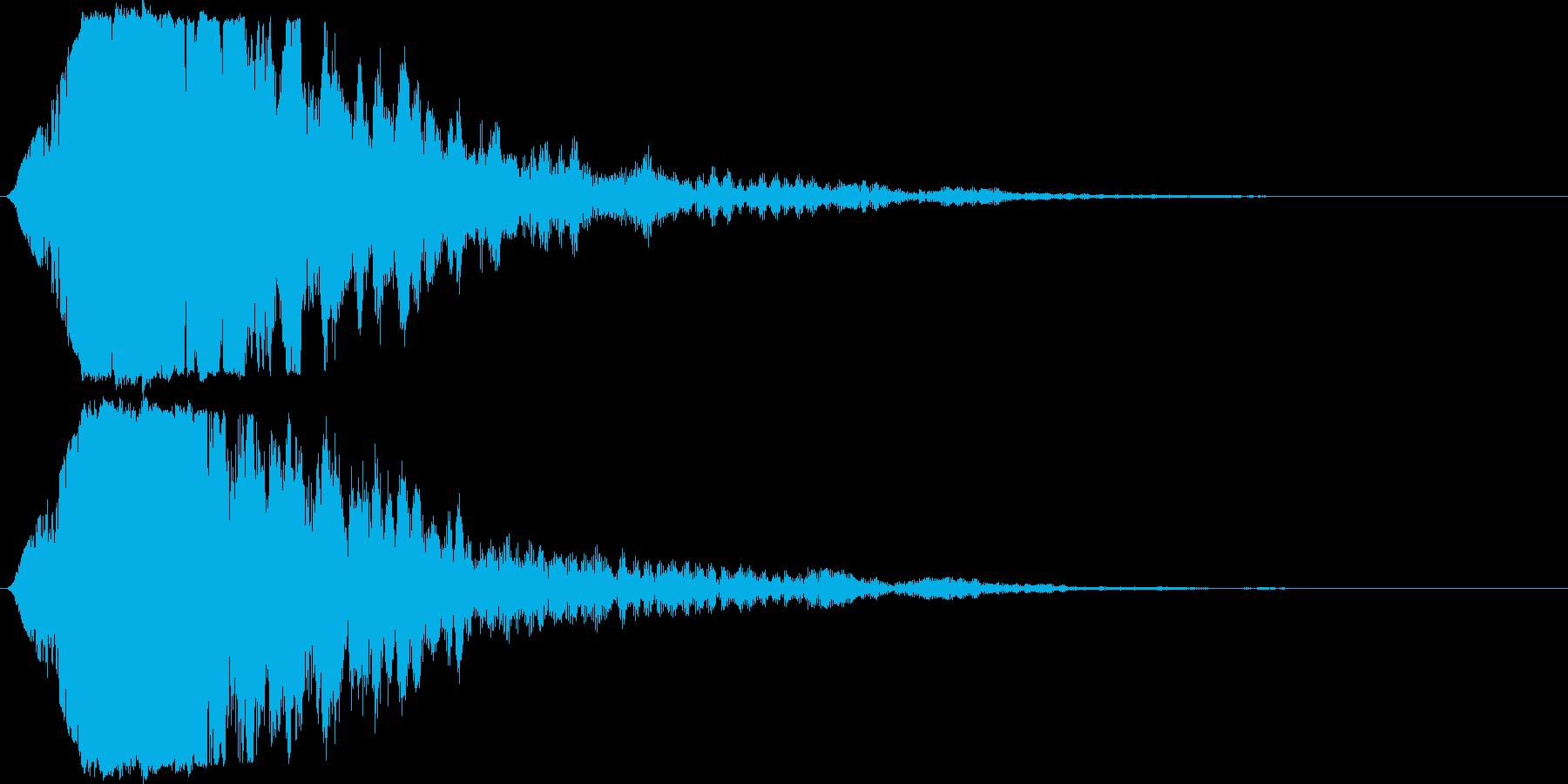 キラン☆シャキーン/派手なインパクト04の再生済みの波形