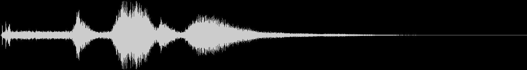 ハンビー:スロースタート、回転数、...の未再生の波形