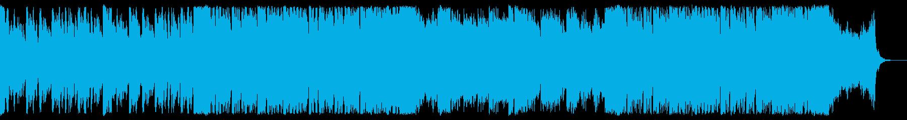 緊張感あるオーケストラの再生済みの波形