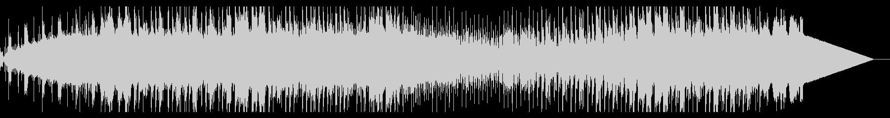 アナログシンセのダークなシネマスケープの未再生の波形