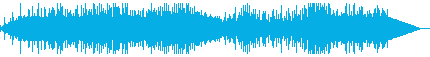 アナログシンセのダークなシネマスケープの再生済みの波形