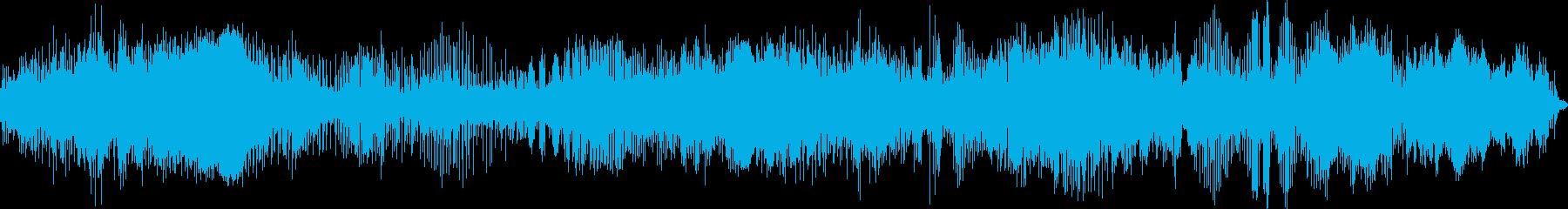 スノーモービルレース、エンジンの回...の再生済みの波形