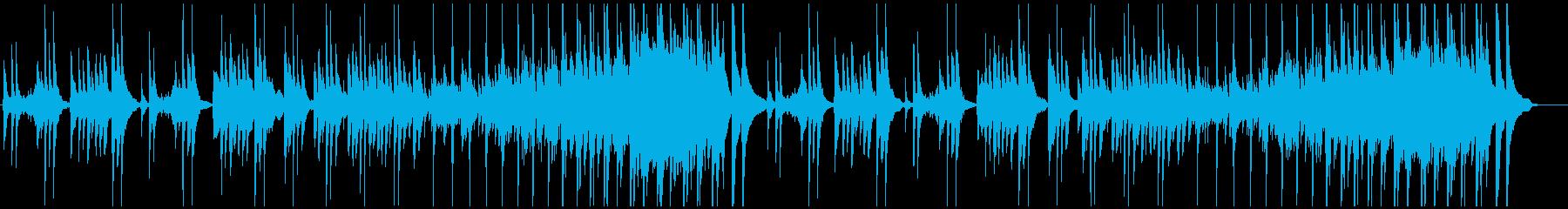 琴・純和風・雅な印象のBGMの再生済みの波形