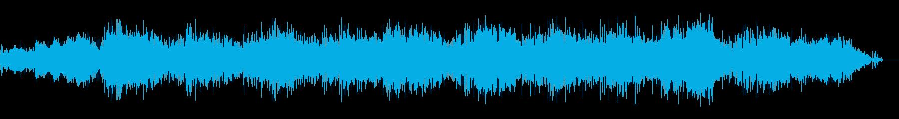 デジタルでサスペンシブなテクスチャIDMの再生済みの波形