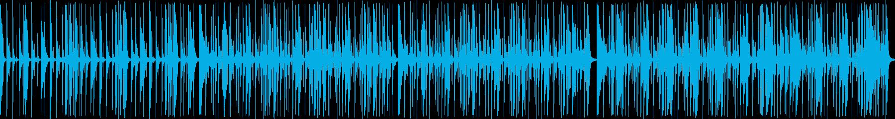 かっこいい響きでリズミカルなメロディーの再生済みの波形