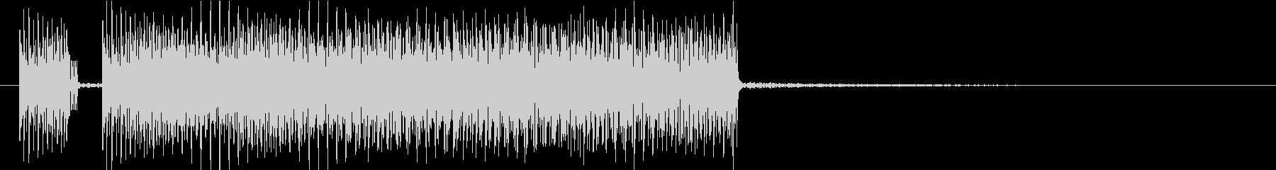 8ビット チップチューン ジャジの未再生の波形