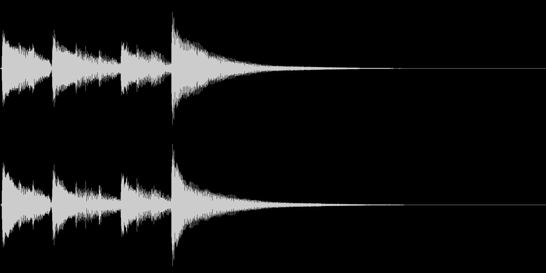 ★アコースティックギター生音ジングル31の未再生の波形
