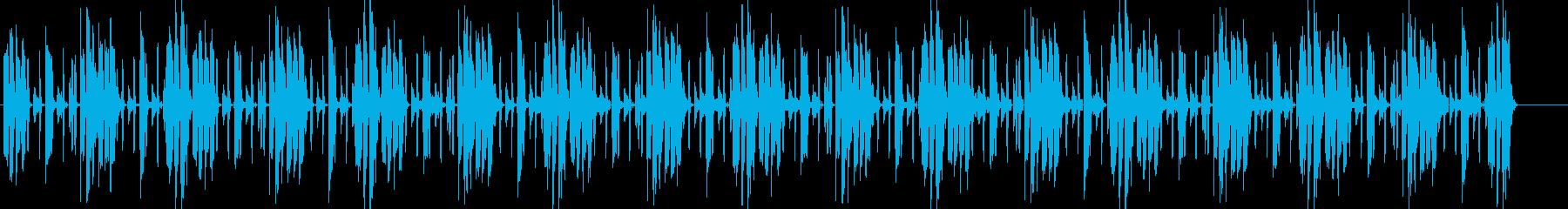 電子楽器。風変わりでロボット的。い...の再生済みの波形