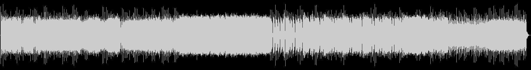 サイバーイメージのBGMの未再生の波形
