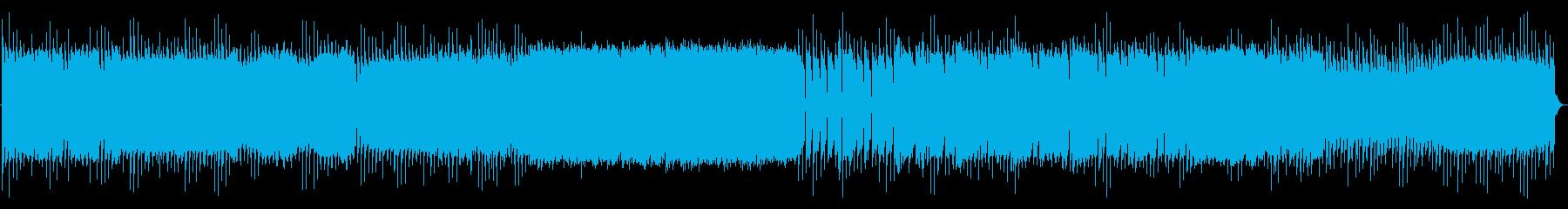 サイバーイメージのBGMの再生済みの波形