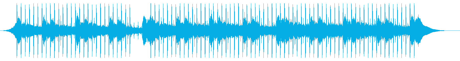 健康医療(60秒)の再生済みの波形