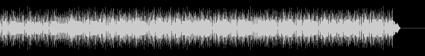 8bitピコピコサウンドで軽快なブルースの未再生の波形