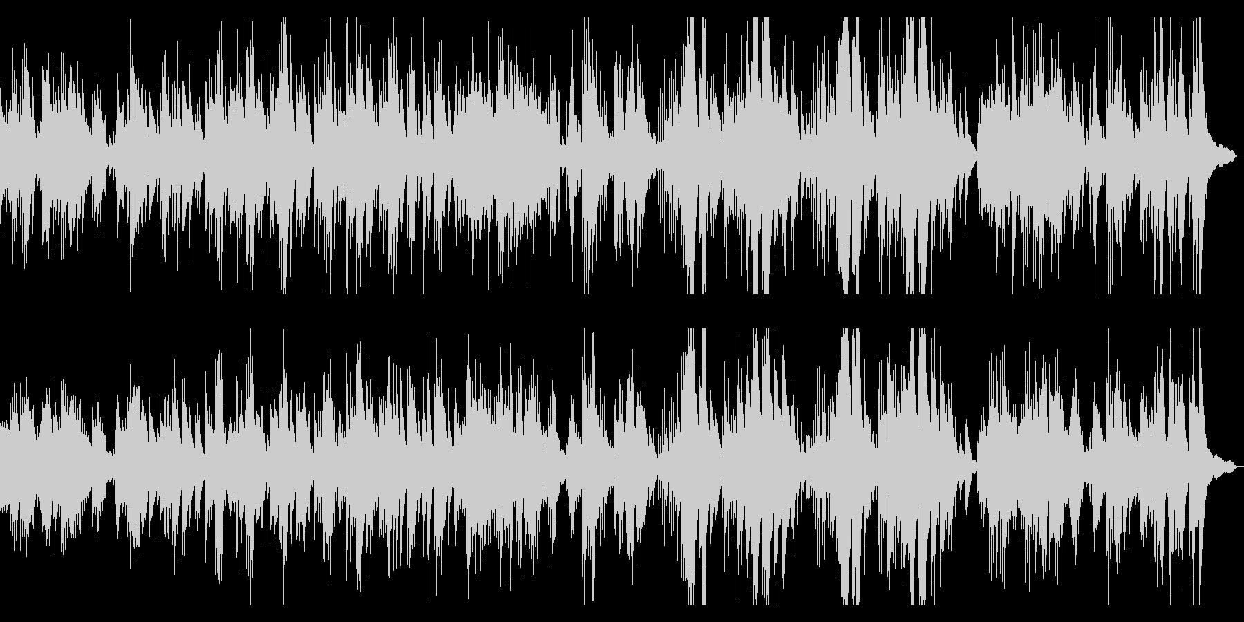 亡き王女のためのパヴァーヌ ピアノソロの未再生の波形