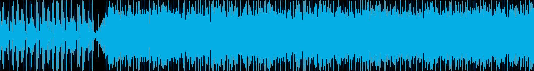お洒落・ポジティブ・シンプルなBGM、2の再生済みの波形