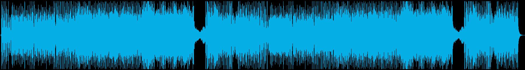 ポップなゴシックオーケストラの再生済みの波形