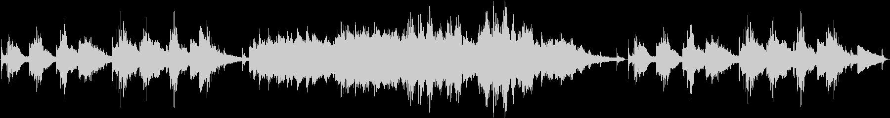現代的 交響曲 クラシック 感情的...の未再生の波形