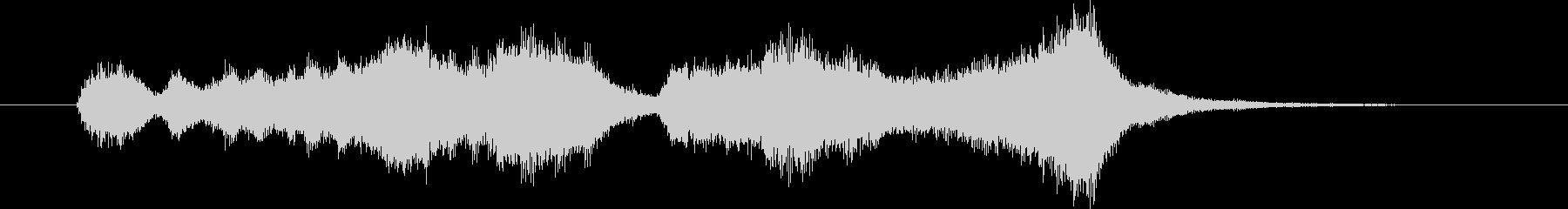 ファンファーレ02の未再生の波形