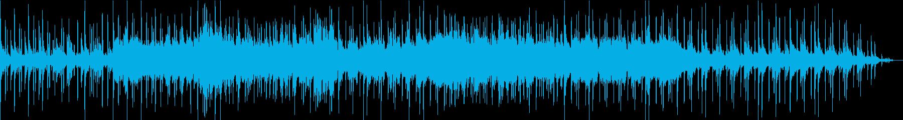 未来を奏でる二胡の旋律が美しいBGMの再生済みの波形