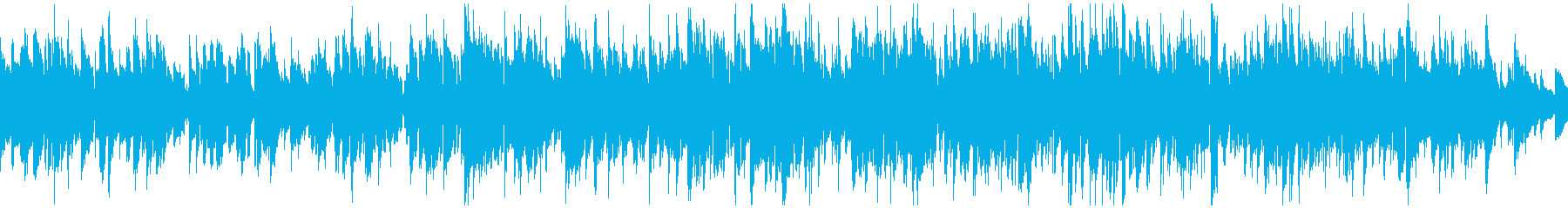 ふんわり優しいソフトジャズ ※ループ版の再生済みの波形