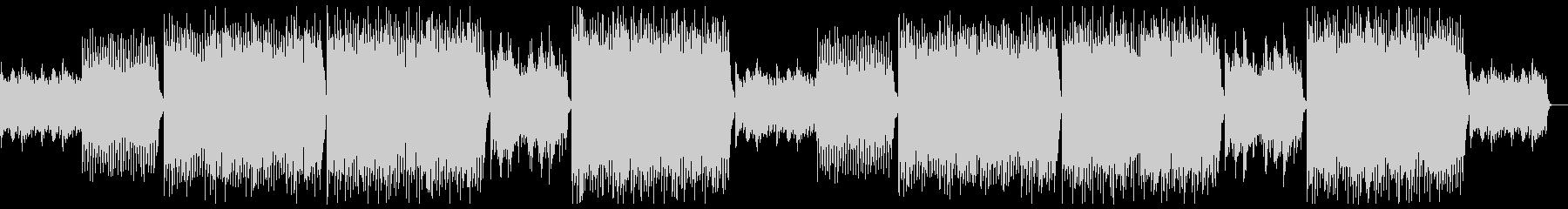 現代的で前向きなバイオリン:フルx2の未再生の波形