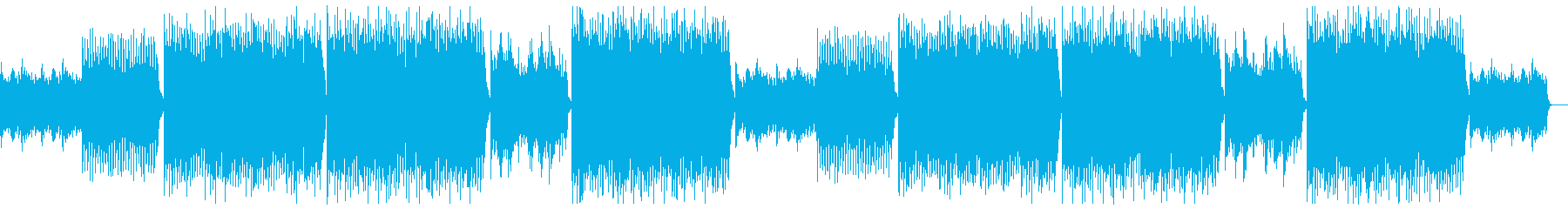 現代的で前向きなバイオリン:フルx2の再生済みの波形