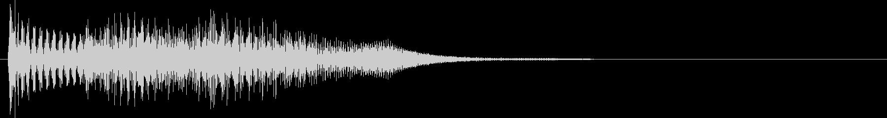 ピロロン(選択決定音・メカニック)の未再生の波形