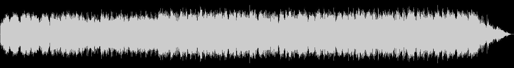 哀愁のある笛のエスニック系BGMの未再生の波形