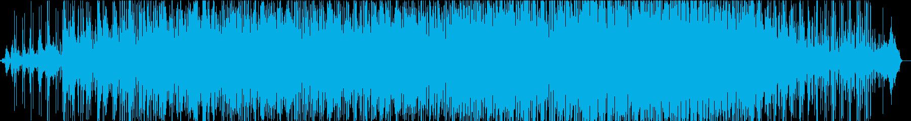 DROPED BLUEの再生済みの波形