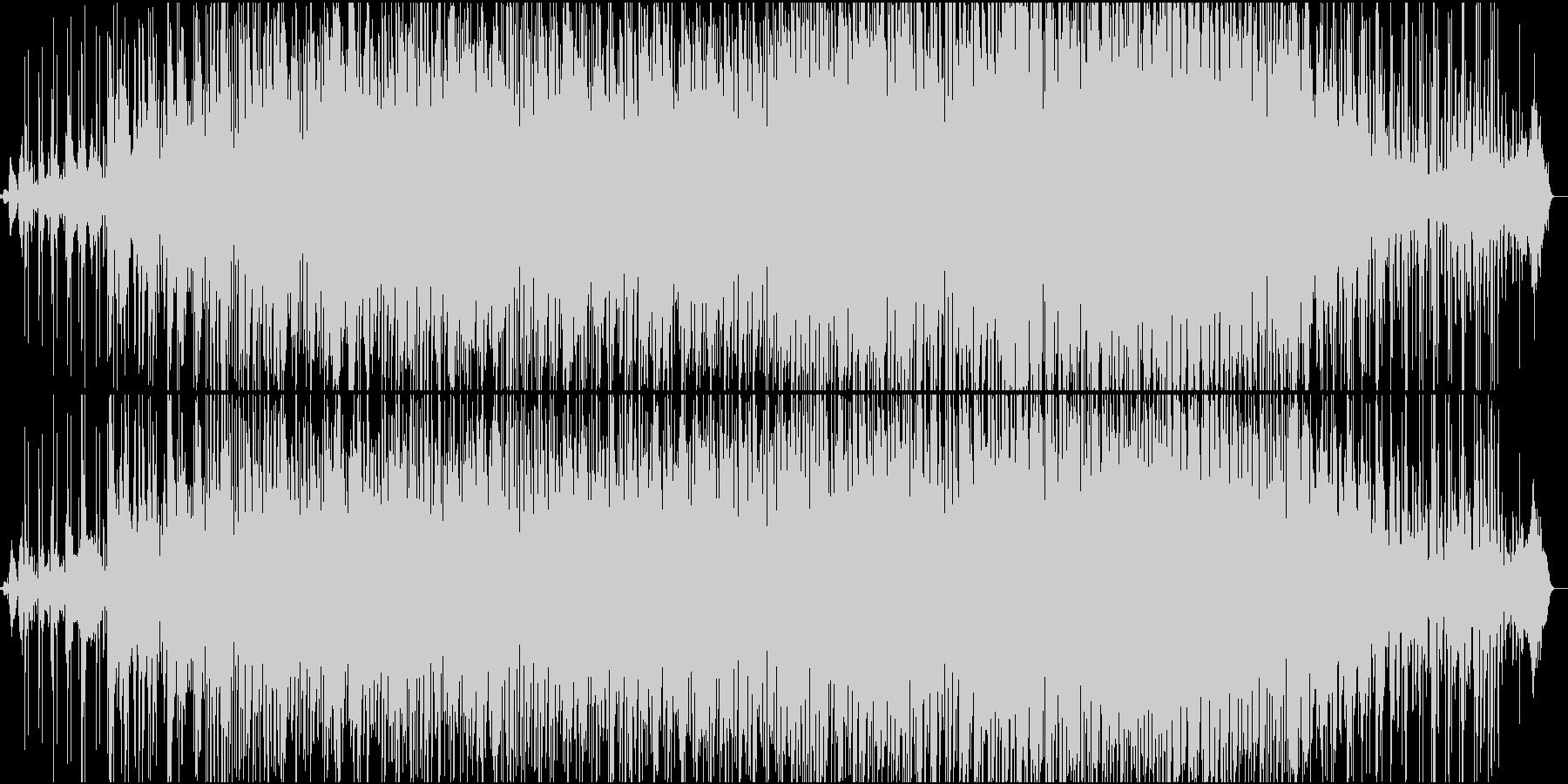 DROPED BLUEの未再生の波形