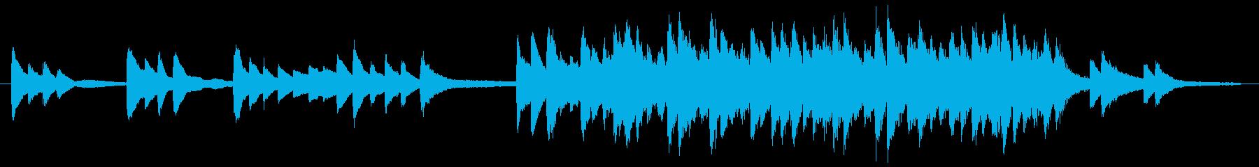 ジブリ、坂本龍一風生演奏ピアノの再生済みの波形