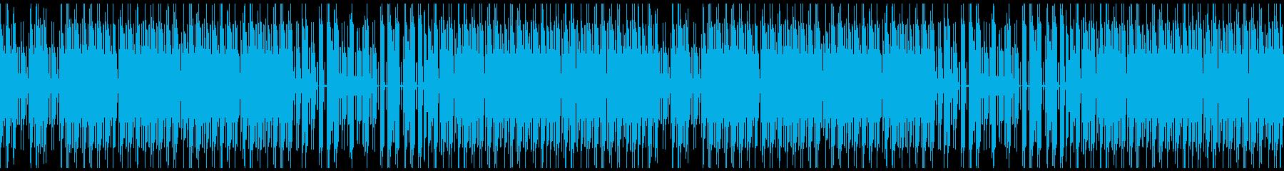 FC風ループ 今日はのんびりとの再生済みの波形