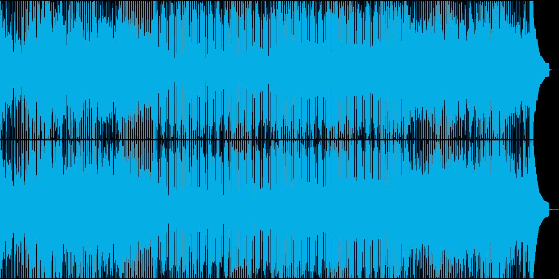 ピアノで華やかにスタートのオープニングの再生済みの波形