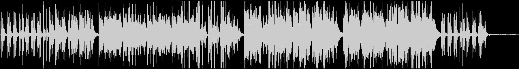 切ないピアノ曲 癒し系 作業用BGMの未再生の波形