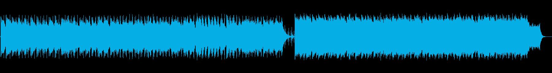 スキップしながらみんなと遊ぶ明るいBGMの再生済みの波形
