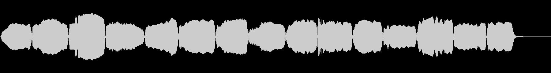 ヴァイオリン:上下のスケール、よく...の未再生の波形