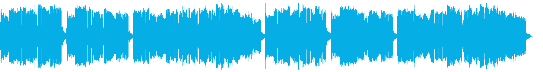 尺八とピアノによる雅楽『越天楽今様』の再生済みの波形
